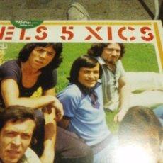 Discos de vinilo: DISCO LP DE LARGA DURACIÓN DEL GRUPO ELS 5 XICS. Lote 54276460