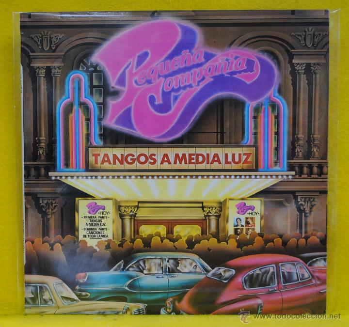 PEQUEA COMPAIA - TANGOS A MEDIA LUZ - LP (Música - Discos - LP Vinilo - Grupos Españoles de los 70 y 80)