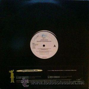 JAMIROQUAI - DEEPER UNDERGROUND (Música - Discos de Vinilo - Maxi Singles - Pop - Rock Extranjero de los 90 a la actualidad)