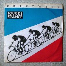 Discos de vinilo: KRAFTWERK.TOUR DE FRANCE+ INSTRUMENTAL...EX. Lote 54278039