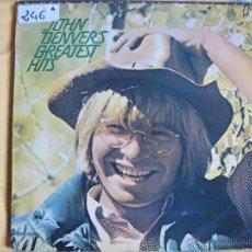 Disques de vinyle: LP - JOHN DENVER - GREATEST HITS (SPAIN, RCA RECORDS 1974). Lote 54289984