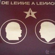 Discos de vinilo: VARIOUS ?– DE LENINE A LENNON RARO RECOPILATORIO GRUPOS ROCK RUSO ANTES DE LA CAIDA DEL MURO. Lote 54290474