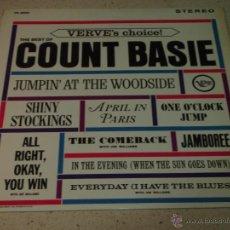 Discos de vinilo: COUNT BASIE ( THE BEST OF COUNT BASIE ) USA LP33 VERVE RECORDS. Lote 54291202