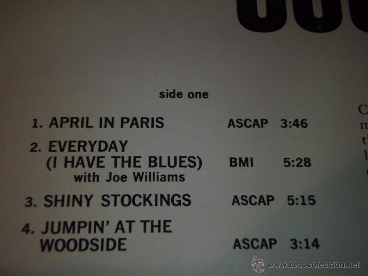Discos de vinilo: COUNT BASIE ( THE BEST OF COUNT BASIE ) USA LP33 VERVE RECORDS - Foto 2 - 54291202