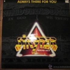 Discos de vinilo: STRYPER - ALWAYS THERE FOR YOU - MAXI - EDICION INGLESA DEL AÑO 1988 - 3 TRACKS.. Lote 134338531