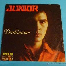 Discos de vinilo: JUNIOR. PERDÓNAME. THE SNAKE. Lote 54297069