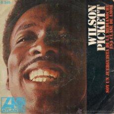 Discos de vinilo: WILSON PICKETT, SG, I´M A MIDNIGHT MOVER + 1, AÑO 1968. Lote 54297291