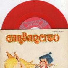 Discos de vinilo: TEATRO INFANTIL SAMANIEGO - CUENTO, EP, GARBANCITO + 1, AÑO 1970. Lote 54298126