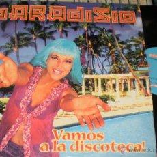Disques de vinyle: PARADISIO MAXI VAMOS A LA DISCOTECA!.1998. Lote 54298259