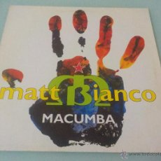 Discos de vinilo: MATT BIANCO FEATURING CHULITO.- THE KING OF LATIN RAP.-MAXI SINGLE 12¨-1991.. Lote 54301030
