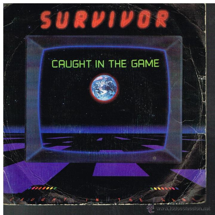 SURVIVOR - CAUGHT IN THE GAME - SINGLE 1983 (Música - Discos de Vinilo - Singles - Pop - Rock Internacional de los 80)