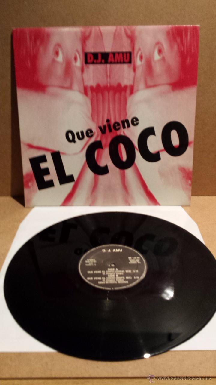 D.J. AMU. QUE VIENE EL COCO. MAXI SINGLE / BUS - 1994. BUENA CALIDAD. ***/*** (Música - Discos de Vinilo - Maxi Singles - Electrónica, Avantgarde y Experimental)