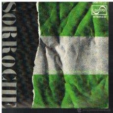 Discos de vinil: SORROCHE - EN LA BRISA HUYENDO / SUDOR, SIMIENTE Y SURCO - SINGLE 1976 - PROMO. Lote 54306948