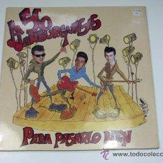 Discos de vinilo: 50 HAMBURGUESAS. PARA PASARLO BIEN. DIAL DISCOS. 1991. ROCKABILLY. Lote 54307235
