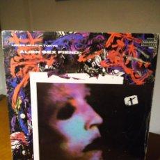 Discos de vinilo: ALÍEN SEX FIEND LÍQUID HEAD IN TOKYO. Lote 54308972