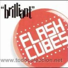 Discos de vinilo: FLASHCUBES - BRILLIANT. Lote 54311552