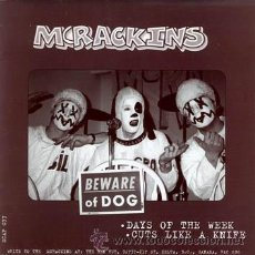 Discos de vinilo: MCRACKINS / THE CHEEKS - BEWARE OF THE DOGS / I HATE THE CHEEKS. Lote 54311677