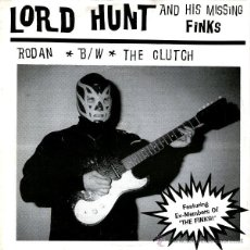 Discos de vinilo: LORD HUNT AND HIS MISSING FINKS - RODAN. Lote 54312245