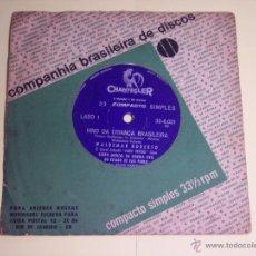 Discos de vinilo: SINGLE 33 RPM. (HINO DA CRIANÇA BRASILEIRA) CORPO MUSICAL DA GUARDA CIVIL DO ESTADO DE SAO PAULO . Lote 54312378