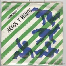 Discos de vinilo: JUEGOS Y RITMO. VOLUMEN I. SOLO LA FUNDA. Lote 54313830