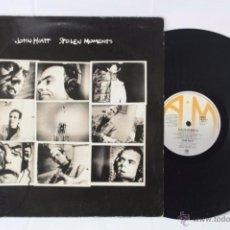 Discos de vinilo: DISCO LP VINILO - JOHN HIATT. STOLEN MOMENTS - A&M RECORDS, AÑO 1990. Lote 54314458