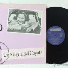 Discos de vinilo: DISCO LP VINILO - JAVIER BERGIA. LA ALEGRÍA DEL COYOTE - FONO ASTUR, AÑO 1988. Lote 54315161