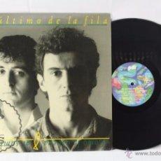 Discos de vinilo: DISCO LP VINILO - EL ÚLTIMO DE LA FILA. COMO LA CABEZA AL SOMBRERO - PDI, AÑO 1988. Lote 54315732