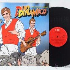 Discos de vinilo: DISCO LP VINILO - EL DÚO DINÁMICO. CON ZAPATOS NUEVOS - CBS, AÑO 1989. Lote 54319327
