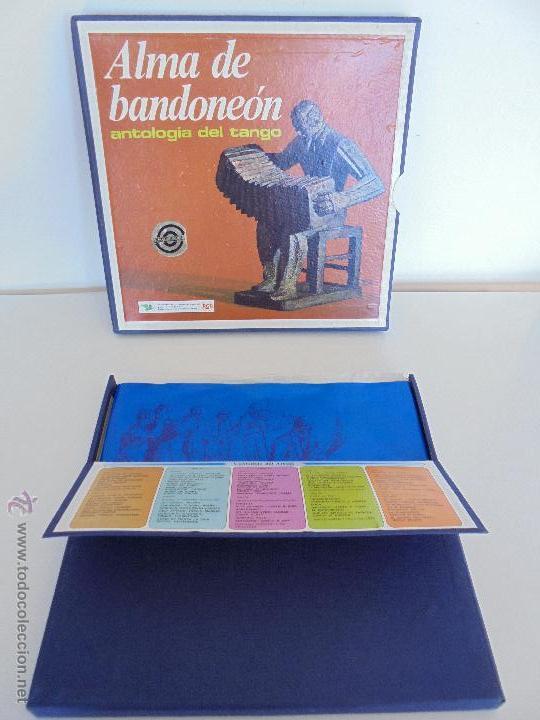 ALMA DE BANDONEON. ANTOLOGIA DEL TANGO. 5 DISCOS. VER FOTOGRAFIAS ADJUNTAS. (Música - Discos - Singles Vinilo - Otros estilos)