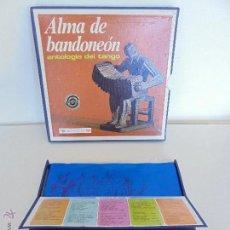 Discos de vinilo: ALMA DE BANDONEON. ANTOLOGIA DEL TANGO. 5 DISCOS. VER FOTOGRAFIAS ADJUNTAS.. Lote 54319355