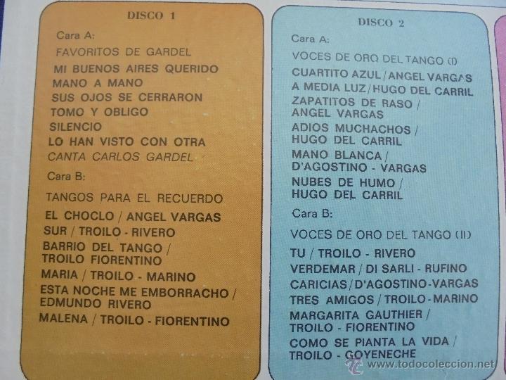 Discos de vinilo: ALMA DE BANDONEON. ANTOLOGIA DEL TANGO. 5 DISCOS. VER FOTOGRAFIAS ADJUNTAS. - Foto 4 - 54319355