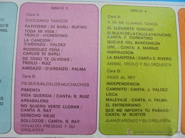 Discos de vinilo: ALMA DE BANDONEON. ANTOLOGIA DEL TANGO. 5 DISCOS. VER FOTOGRAFIAS ADJUNTAS. - Foto 5 - 54319355