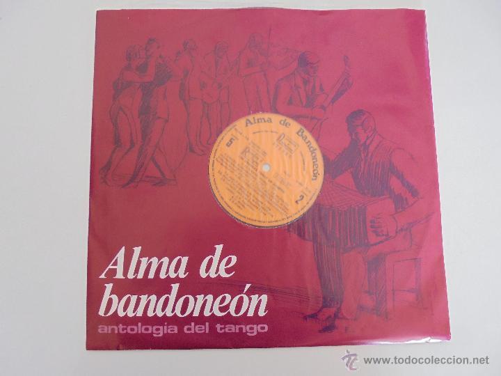 Discos de vinilo: ALMA DE BANDONEON. ANTOLOGIA DEL TANGO. 5 DISCOS. VER FOTOGRAFIAS ADJUNTAS. - Foto 7 - 54319355
