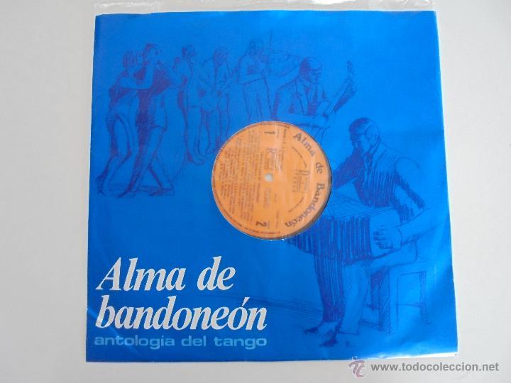 Discos de vinilo: ALMA DE BANDONEON. ANTOLOGIA DEL TANGO. 5 DISCOS. VER FOTOGRAFIAS ADJUNTAS. - Foto 9 - 54319355