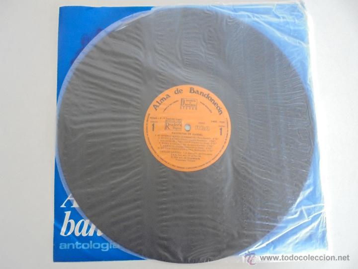 Discos de vinilo: ALMA DE BANDONEON. ANTOLOGIA DEL TANGO. 5 DISCOS. VER FOTOGRAFIAS ADJUNTAS. - Foto 11 - 54319355