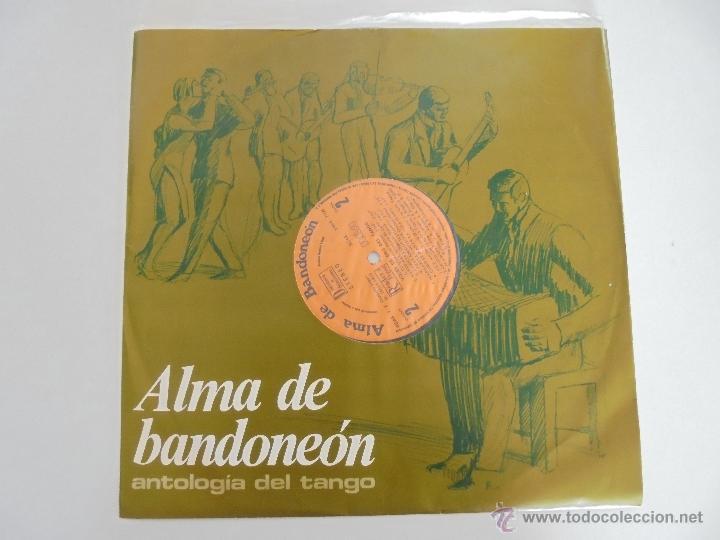 Discos de vinilo: ALMA DE BANDONEON. ANTOLOGIA DEL TANGO. 5 DISCOS. VER FOTOGRAFIAS ADJUNTAS. - Foto 12 - 54319355