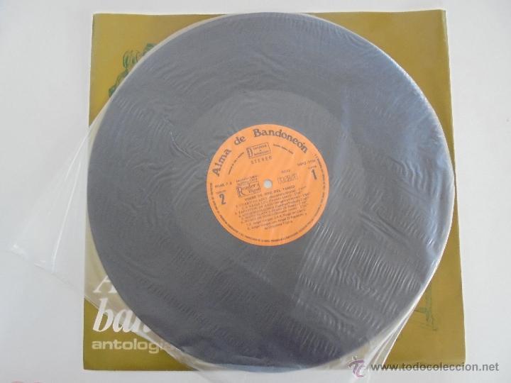 Discos de vinilo: ALMA DE BANDONEON. ANTOLOGIA DEL TANGO. 5 DISCOS. VER FOTOGRAFIAS ADJUNTAS. - Foto 14 - 54319355