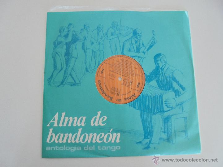 Discos de vinilo: ALMA DE BANDONEON. ANTOLOGIA DEL TANGO. 5 DISCOS. VER FOTOGRAFIAS ADJUNTAS. - Foto 15 - 54319355