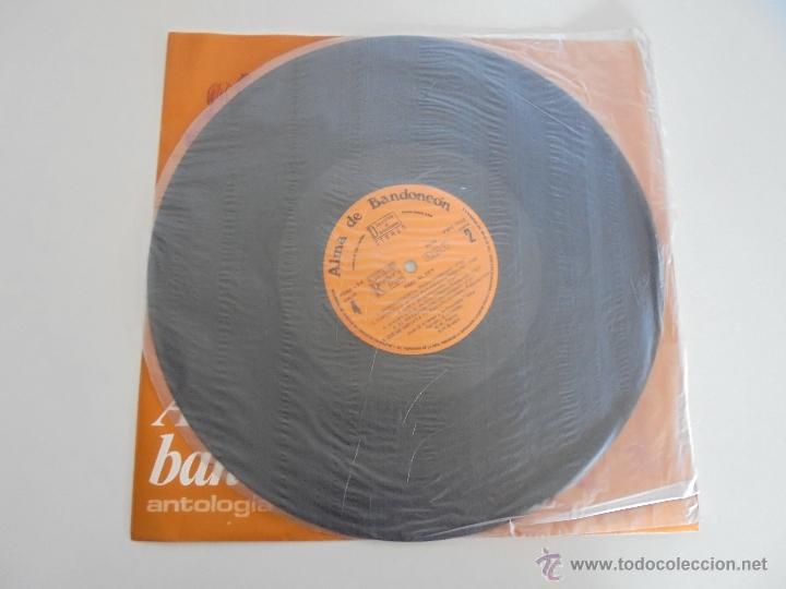 Discos de vinilo: ALMA DE BANDONEON. ANTOLOGIA DEL TANGO. 5 DISCOS. VER FOTOGRAFIAS ADJUNTAS. - Foto 20 - 54319355