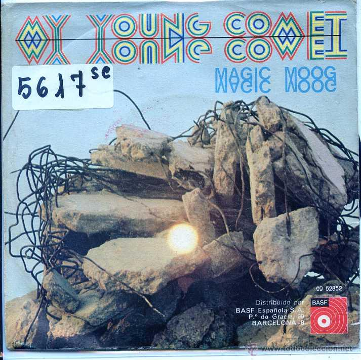 MAGIC MOOG / MY YOUNG COMET / MAGIC MOOG (SINGLE 1973) (Música - Discos - Singles Vinilo - Pop - Rock - Extranjero de los 70)