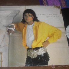 Discos de vinilo: MICHAEL JACKSON MAXI SINGLE LIBERIAN GIRL MADE IN UK 1987. Lote 54935310