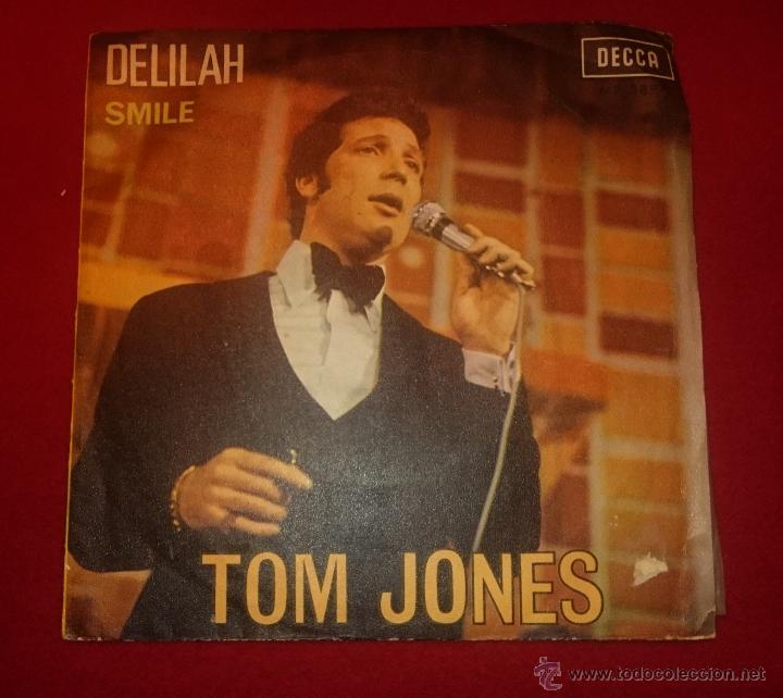 TOM JONES - DELILAH - DECCA 1967 (Música - Discos - Singles Vinilo - Pop - Rock Extranjero de los 50 y 60)