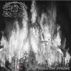 Discos de vinilo: AMNION- BURN THE FOREST-7EP-BLACK METAL HORNA. Lote 94866490