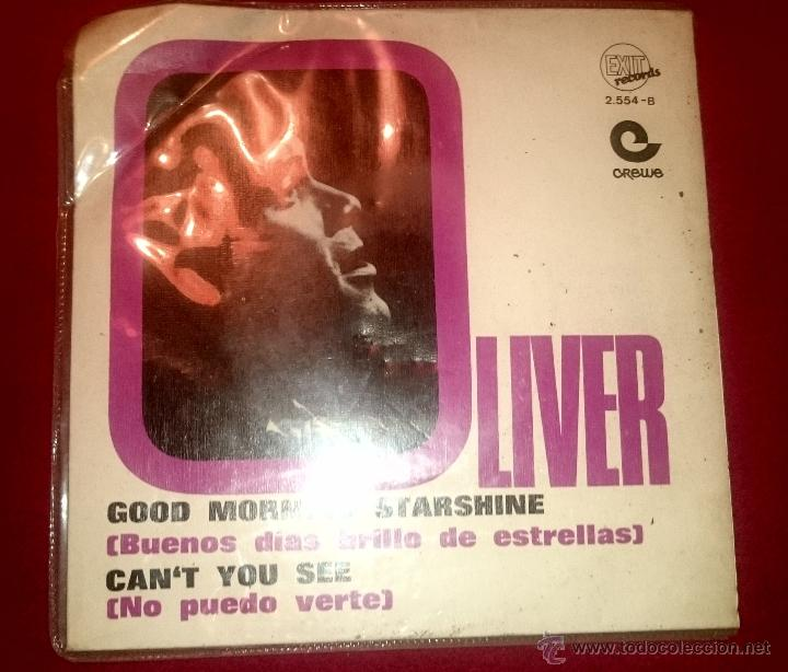 OLIVER - GOOD MORNING STARSHINE - CAN'T YOU SEE - EXIT RECORDS - AÑO 1969 (Música - Discos - Singles Vinilo - Pop - Rock Extranjero de los 50 y 60)