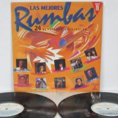 Discos de vinilo: LAS MEJORES RUMBAS - 2 LP - HISPAVOX 1991 SPAIN - PACO LUCIA / CAMARON / CASTA / EL LUIS / KETAMA. Lote 86712146