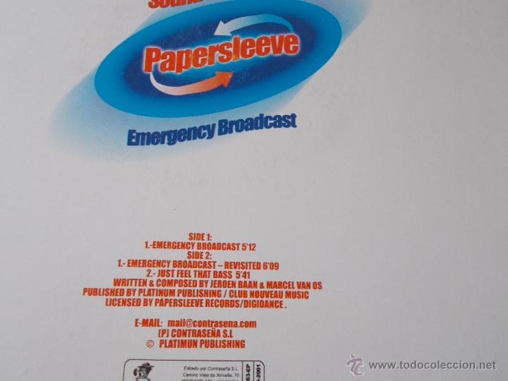 Discos de vinilo: SOUND SOLUTION. PAPERSLEEVE. RECOMENDADO POR DJ. ISMAEL LORA - Foto 3 - 54327244