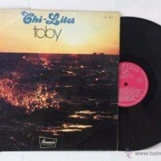 Discos de vinilo: DISCO LP VINILO - CHI-LITES. TOBY - BRUNSWICK RECORDS / ZAFIRO, AÑO 1974. Lote 54338832