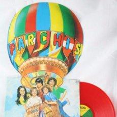 Discos de vinilo: DISCO LP VINILO - LAS LOCURAS DE PARCHÍS - VINILO ROJO / CARÁTULA TROQUELADA - BELTER, AÑO 1982. Lote 54339403