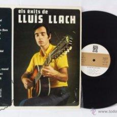Discos de vinilo: DISCO LP VINILO - ELS ÉXITS DE LLUÍS LLACH - CONCENTRIC, AÑO 1969. Lote 54339886