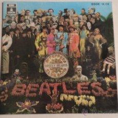 Discos de vinilo: EP THE BEATLES - SGT PEPPERS LONELY HEARTS CLUB BAND - PROMOCIONAL - MUY BUEN ESTADO. Lote 54348911